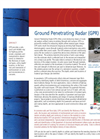 GPR - Ground Penetrating Radar Service – Brochure