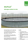 Genap SiloFloat - Anti-algae Floating Cover for Water Silos - Brochure