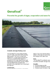 Genap Genafloat - Durable Floating Cover for Water Reservoirs - Brochure