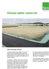 Genap - Fully Closed Water Reservoir - Fact Sheet