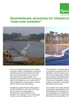 Geomembrane Structures Under Water Installation - Fact Sheet