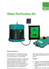 Genap - UV Waterbox - Water Purification Kit - Fact Sheet