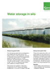 Genap - Water Storage in Silo - Brochure