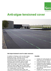 Genap - Anti-algae Tensioned Cover for Water Reservoirs - Brochure