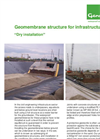 Genap - Geomembrane structure for infrastructure - Dry Installation - Brochure