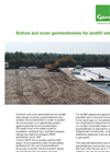 Genap - Bottom and Cover Geomembranes for Landfill Sites - Brochure