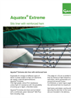 Aquatex - Extreme   Silo Liner With Reinforced Hem - Datasheet