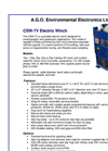 CSW-7V Electric Winch Brochure