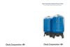 30 inch to 63 inch Clack Corporation Industrial Pressure Tanks Brochure