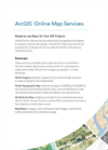 ArcGIS Online Map Services Brochure