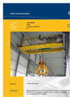 Waste Reception Area With Two Electric Overhead Travelling Cranes (PDF 361 KB)