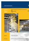 Treatment And Recycling Installation Of Building Waste Material - II (PDF 317 KB)