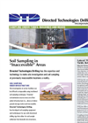 Soil Sampling in `Inaccessible` Areas Brochure