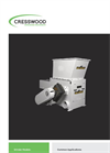 Model HF-30SR - Hopper Feed Grinder Brochure
