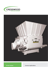 Model HR-50LR - Low-Speed/High Torque Grinder Brochure