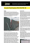 Acoustic Panel Systems- Brochure