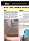Acoustic Cladding Systems- Brochure