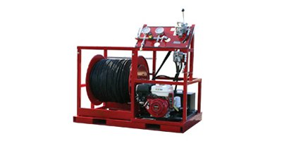 Jetter Hose Reel Turn-Key System