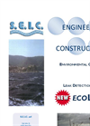 Model ecoLDS - Environmental Control & Leak Detection System - Brochure