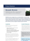 Acoustic Screens - Brochure