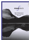 SRS - Model Maxideck - High Performance Acoustic Flooring Overlay System - Brochure