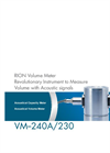 Rion - Model VM-230 and VM-240A - Acoustical Capacity Meter Datasheet
