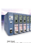 Rion - Model UV-15 - Charge Amplifier - Vibration Meter Unit Datasheet