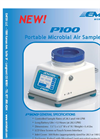 Emtek - Model P100 - Portable Air Sampler Brochure