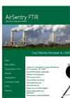 Cerex AirSentry - Model FTIR - Open Path Multi-Gas Analyzer - Brochure