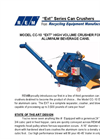 Can Crushers CC-10 EXT Series - Brochure