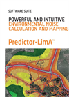 Predictor-LimA Software Suite for Environmental Noise Projects Brochure