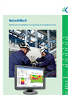 NoiseAtWork Software for Visualization and Reporting of Occupational Noise Brochure