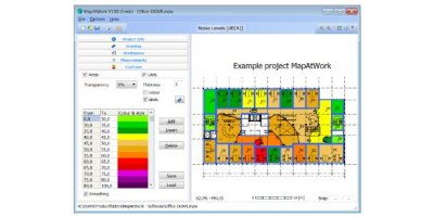 MapAtWork - Software for Mapping and Reporting of Measurements in Workspaces