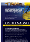 Cricket - Magnet Mounted Radiation Detection System Brochure