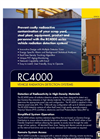 Model RC4000 - Vehicle Monitoring Radiation Detection Systems Brochure