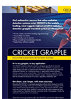 Cricket Grapple System Brochure