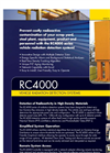 Model RC4138 - Radiation Detection System Brochure