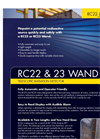 RC22 & 23 WAND Telescopic Radiation Detector Brochure
