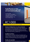Model RC1000 - Vehicle Radiation Detection System Brochure
