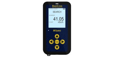 MSpec - Portable Fast Responding Radiation Spectrometer and Dose Rate Meter