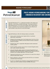 RegenOx PetroCleanze - Frees Bound Hydrocarbons for More Effective Enhanced Recovery and Chemical Oxidation Brochure