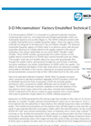 3-D Microemulsion Factory Emulsified Brochure