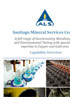 Geochemistry Analytical Data Services- Brochure
