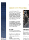 Scissor Shoe Primary Seal – Brochure