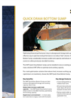 Quick Draw Bottom Sump – Brochure