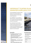 VAPORVAULT - Floating Oil-Water Separator Cover & Seal System – Brochure