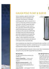 Gauge Pole – Guide Pole Float & Sleeve – Brochure