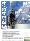 Cirrus - Model CR245 - Portable Environmental Noise Monitor Datasheet
