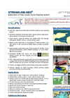 Streamline-GEO - Bathymetric Survey and Water Quality Mapping System Software Brochure