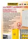 Safety Cabinets BACMY11 and BBACMY11 Series Brochure